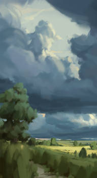 Landscape sketch 03/06