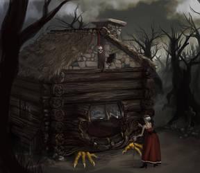 Baba Yaga's house by Nonobot
