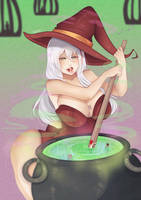 CMM: Witch's cauldron by A-I-K-art