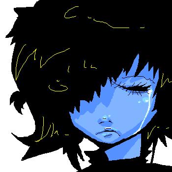 eyes shut by Yusho