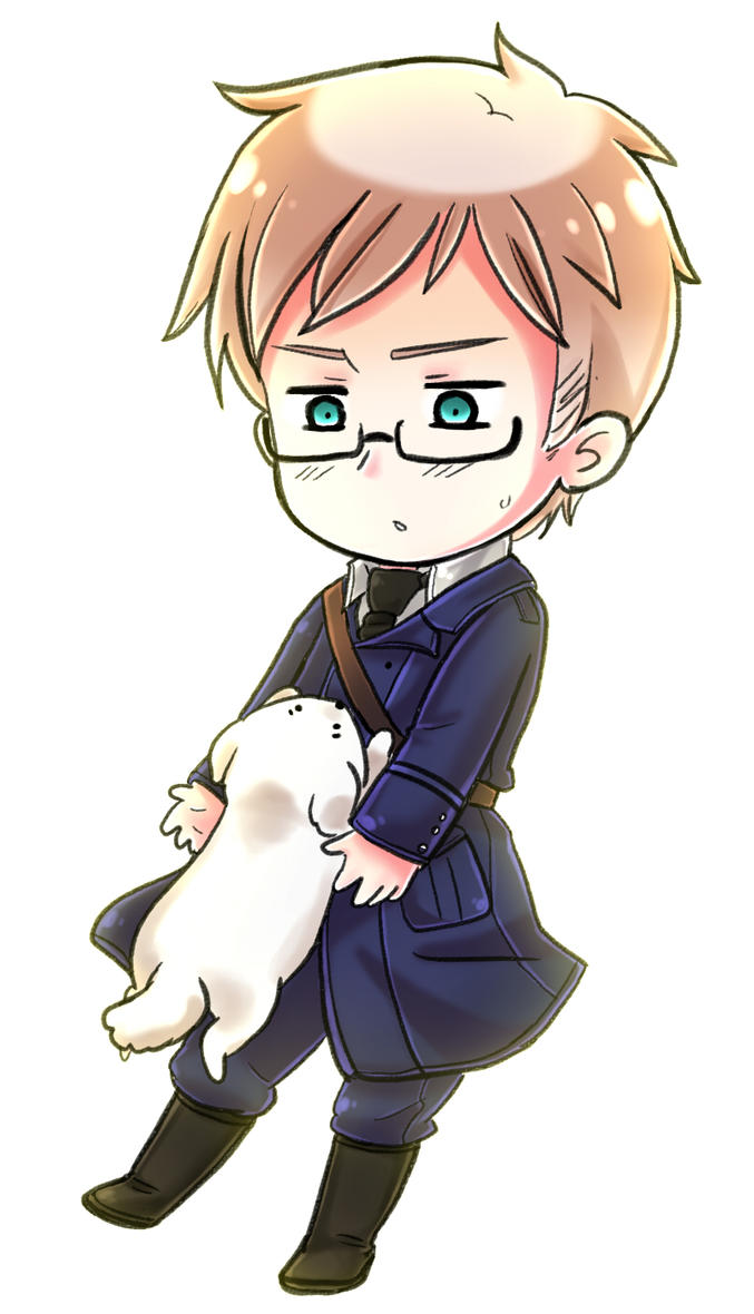 Hetalia: Sweden and Hanatamago by NessieMcCormick