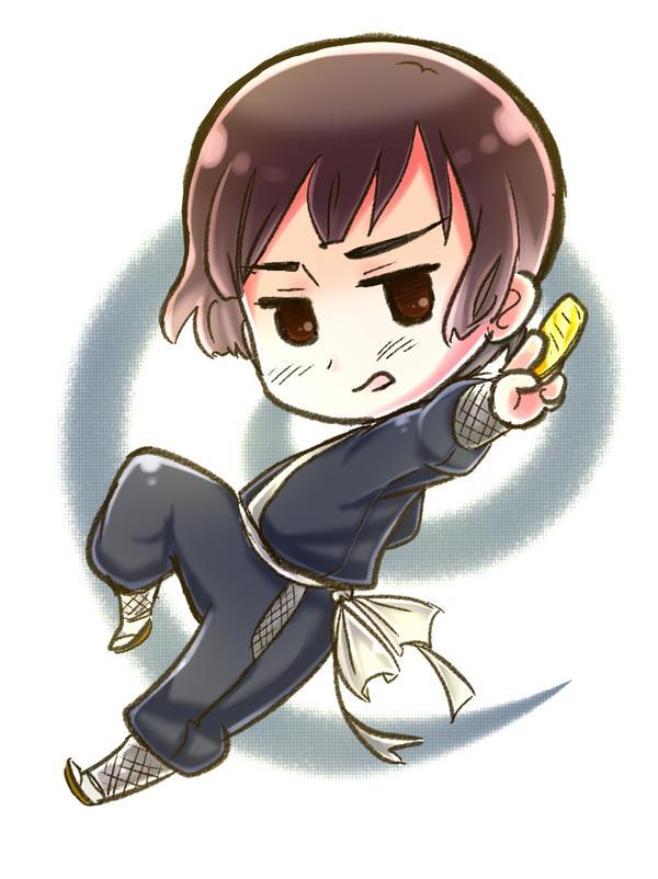 Hetalia: Ninja Japan! by NessieMcCormick
