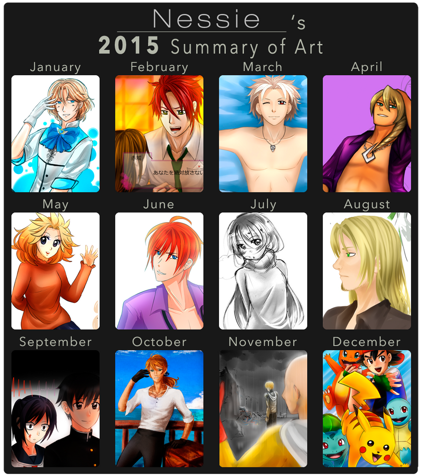 Summary of Art 2015 by NessieMcCormick