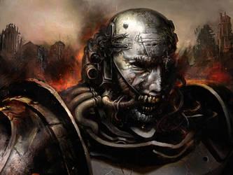 Super Mutant Cyborg by preciteran