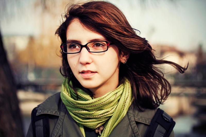 82. :Wind in her hair: by bittersweetvenom