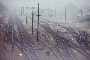 Trains by bittersweetvenom