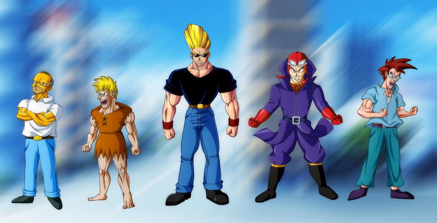 Connu Cartoons in DBZ Style by Ninja-Master-Tommy on DeviantArt SU64