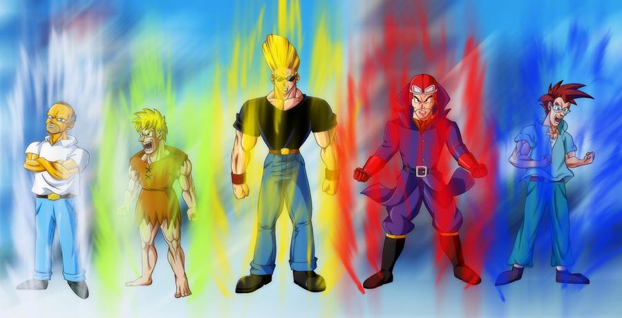 Connu Cartoons in DBZ Style + effect by Ninja-Master-Tommy on DeviantArt SU64