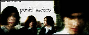 Simple Panic at the Disco Sig