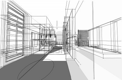 architectural drawing interior project by dcs4200