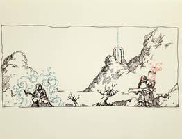 Fantasy vs SF by ashpwright