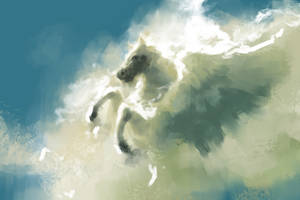Sky horse by ashpwright