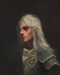 Elf rough by ashpwright