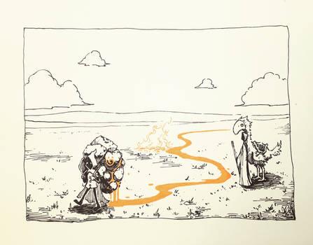 Earth Dwarf's Bag by ashpwright