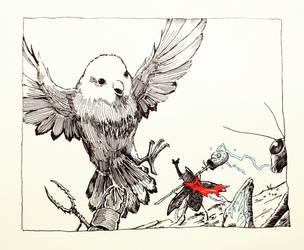 Epic Raid Ever by ashpwright