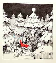 The Origin of Santa Claus by ashpwright