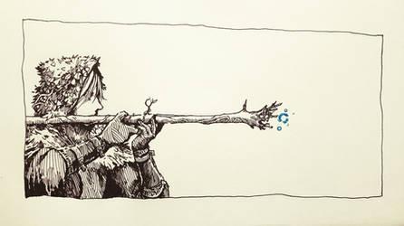 Sniper no Sniping by ashpwright