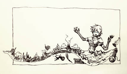 Scroll of Smaller World