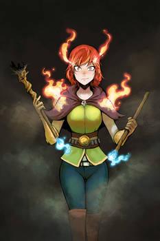 Flame Sorceress