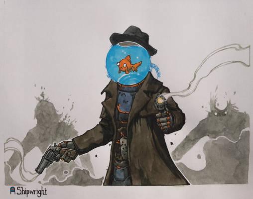 Detective Fishcake