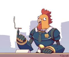Inspector Chickenhead