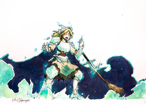 The Knight of White Ash