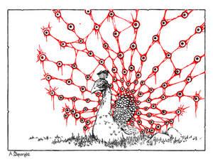 Blind-Peacock
