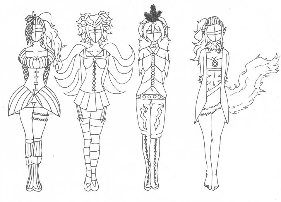 ~Outfit Design Adoptables (ALL OPEN) Part2 by Lovepiko