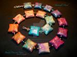 Zentangle Mood...Sq. Pillow beads