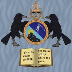 Kragspiir Coat of Arms