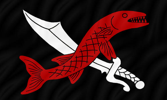 Knavish Barracuda Jolly Roger