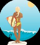 Surfer Girl by jmgnole