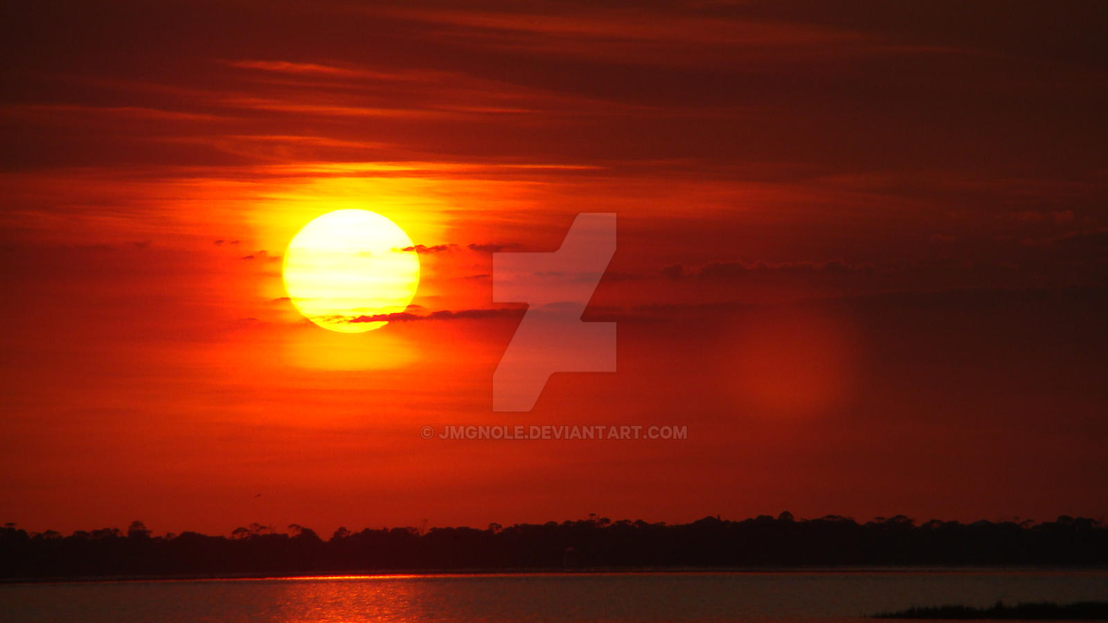 Sunset on St. Joseph's Bay