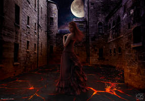 The girl in the Alley