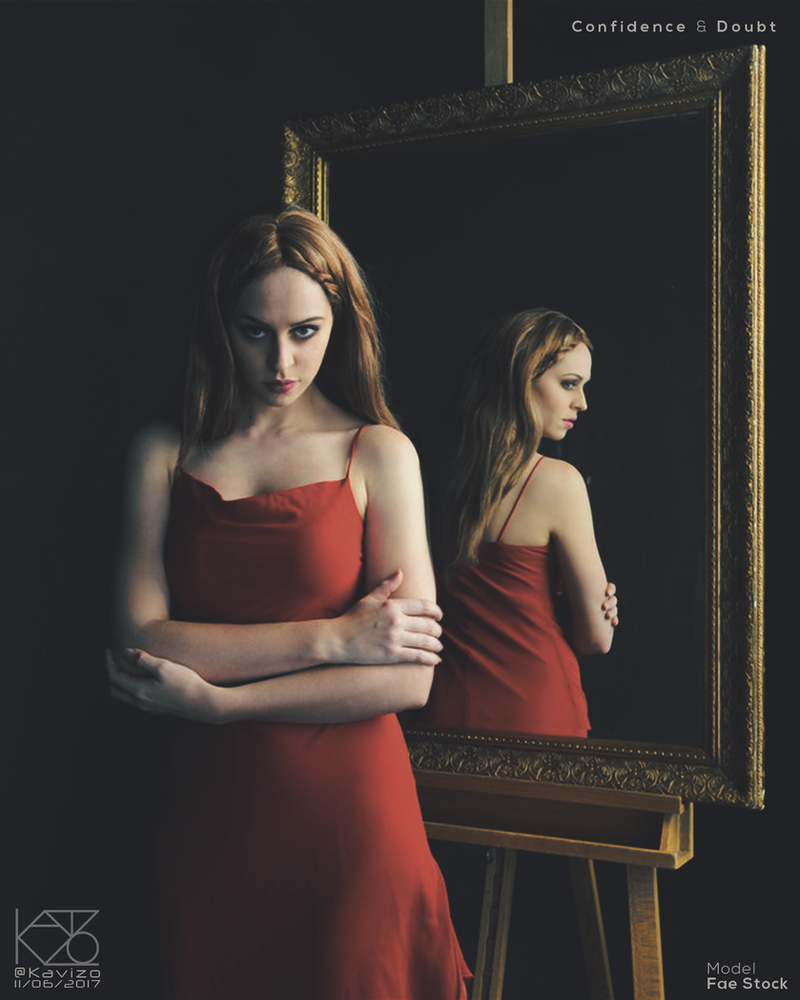 Confidence and Doubt by Kavizo by KAVIZO