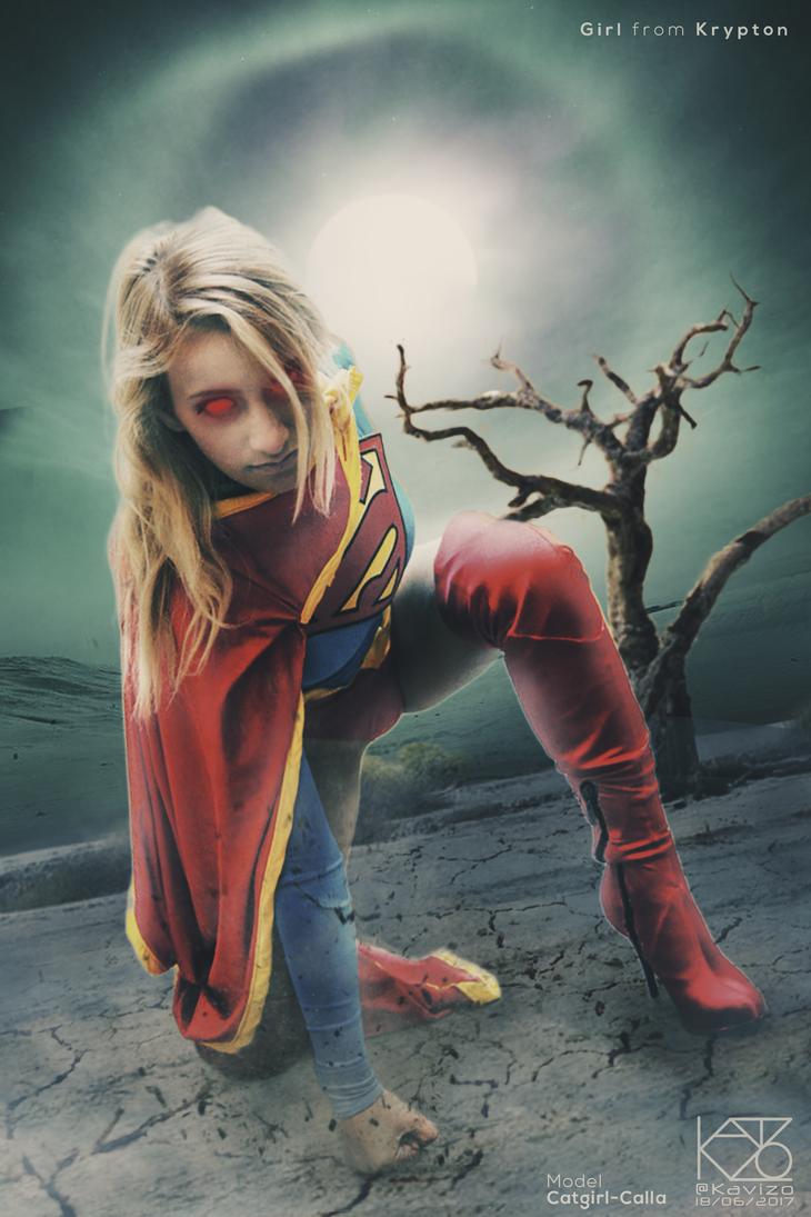 Girl from Krypton by Kavizo by KAVIZO