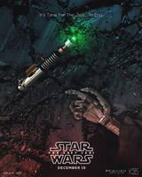 Star Wars: Last Jedi fan poster by KAVIZO