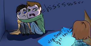 Overprotective!Dean by AlmostAige