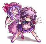 Sakuya Protecting Remilia