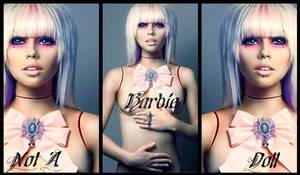Kerli Banner-Not A Barbie Doll