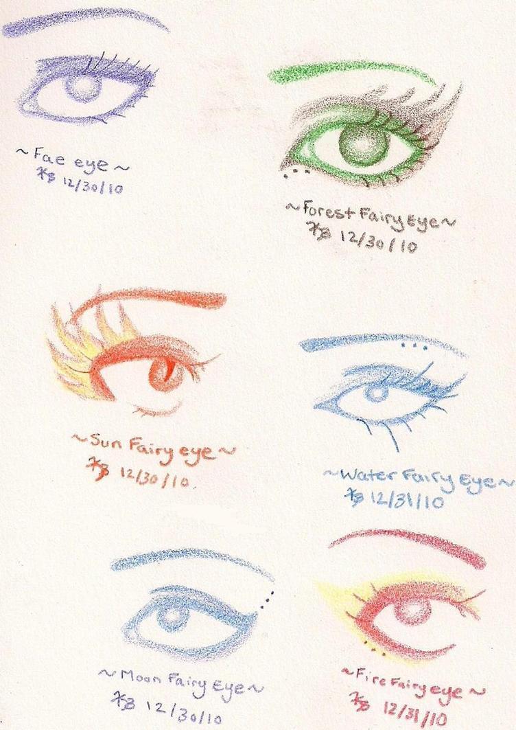 Fairy Eyes Sketch Dump by xXxsilentxsorrowxXx on DeviantArt