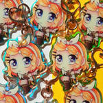 Kagamine Rin Rainbow Keychains [Read Description]