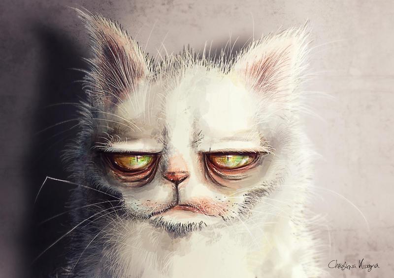 Grumpy Pluis by ChristinaKingma