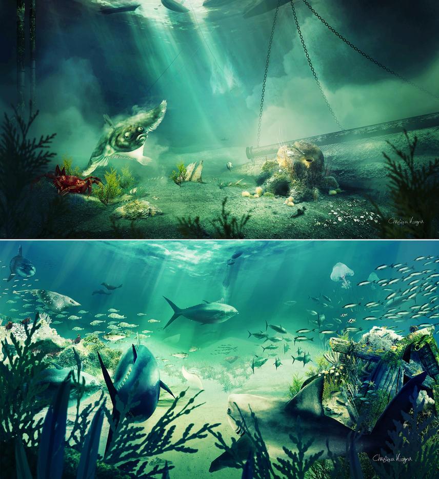 North Sea dream (WNF) by ChristinaKingma