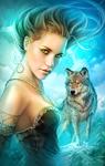 Lady Wolf (By Shannon Maer) by Shannon-Maer