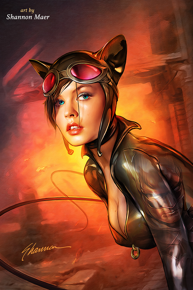 Catwoman - Skin Tutorial - Batman - DC Comics by Shannon ...