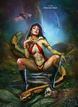Vampirella by Shannon Maer