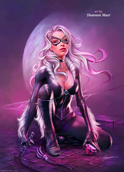 Black Cat by Shannon Maer