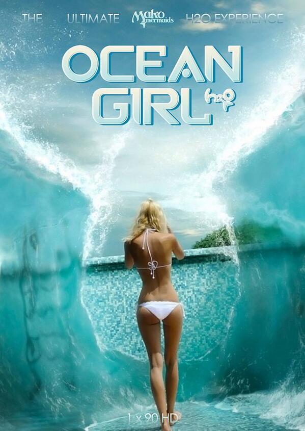 ocean girl movie poster by yugi dan yami on deviantart