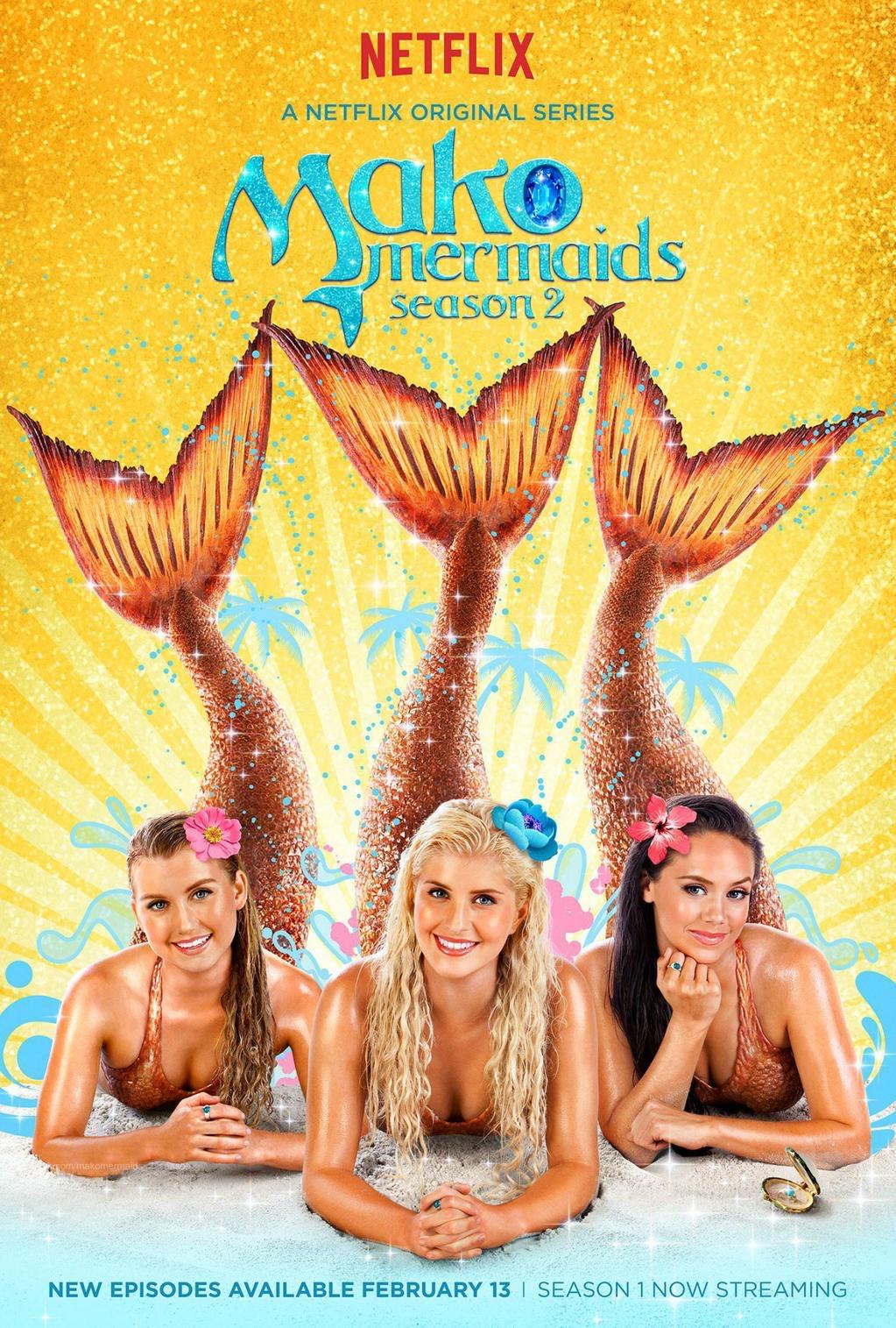 Mako Mermaids S2 poster by Yugi Dan Yami on DeviantArt